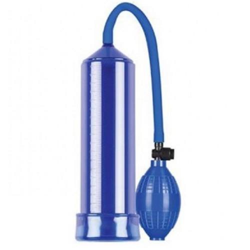 Pump Dream Hava Sıkmalı Emiş Güçlü Mavi Penis Pompası