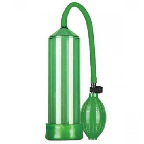 Pump Dream Hava Sıkmalı Emiş Güçlü Yeşil Penis Pompası