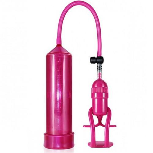 Lovetoy Tetik Mekanizmalı Pembe Penis Pompası