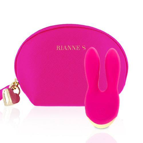 Rianne S Essentials Bunny Bliss Pink Çift Taraflı Vibratör