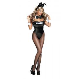 Erox Fantezi Papyonlu Parlak Tavşan Kız Kostümü