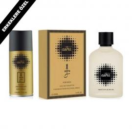 Astra Erkeklere Özel Feromonlu Parfüm 100 ml Deodorantlı
