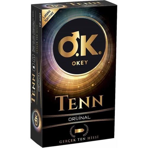 Okey Tenn Orijinal Prezervatif 10'lu Paket