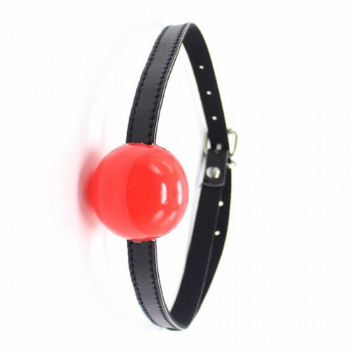 Pipedream Fetish Gag Ball Ultra Lüks Kırmızı Fetiş Ağız Topu