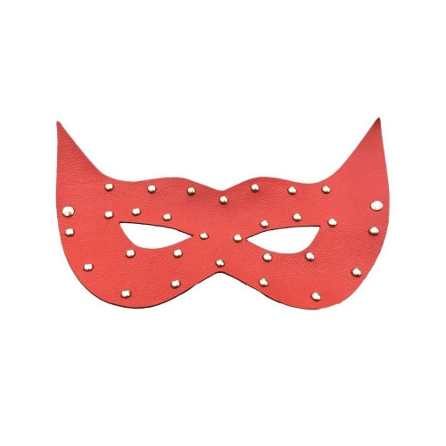Meyra Best Fetish Fantasy Taşlı Kırmızı Deri Göz Maskesi